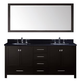 Modern Contemporary 61 Inch Double Sink Vanity Top Allmodern