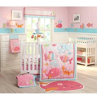 The Sea 4 Piece Crib Bedding Set