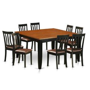 Parfait 9 Piece Extendable Dining Set