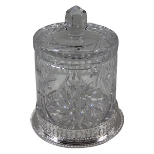 Cut Glass Cookie Jar
