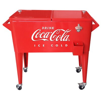 5c1412abba5 LeighCountry 80 Qt. Coca-Cola Embossed Ice Cold Cooler & Reviews ...