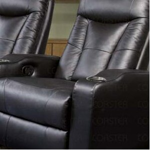 St. Helena Home Theater Seating (Row of 4) by Wildon Home ?