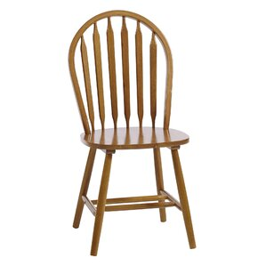 Sheldon Amber Solid Wood Dining Chair (Set of 2) by Alcott Hill