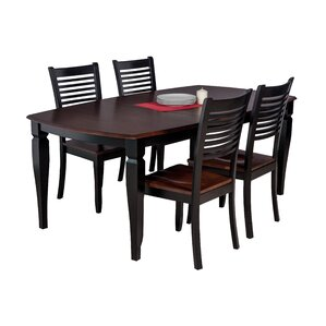 Besse Traditional 5 Piece Dining Set by Red Barrel Studio