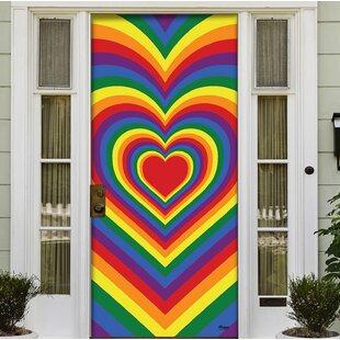 Genial Holiday Front Door Decor Mural