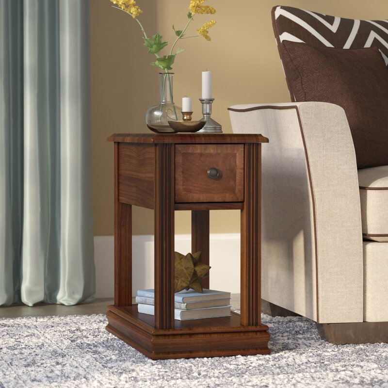 Darby Home Co Charlyn End Table With Storage Amp Reviews
