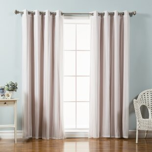 Light Pink Blackout Curtains | Wayfair