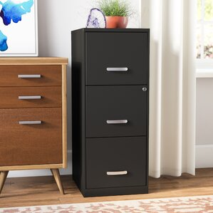 Bookcase With Filing Cabinet | Wayfair