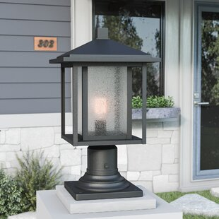 Outdoor column mount light wayfair save to idea board aloadofball Image collections