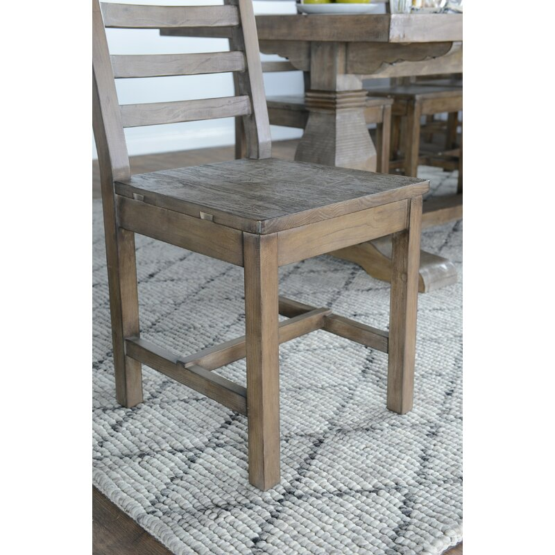 Gertrude Solid Wood Dining Chair Amp Reviews Birch Lane