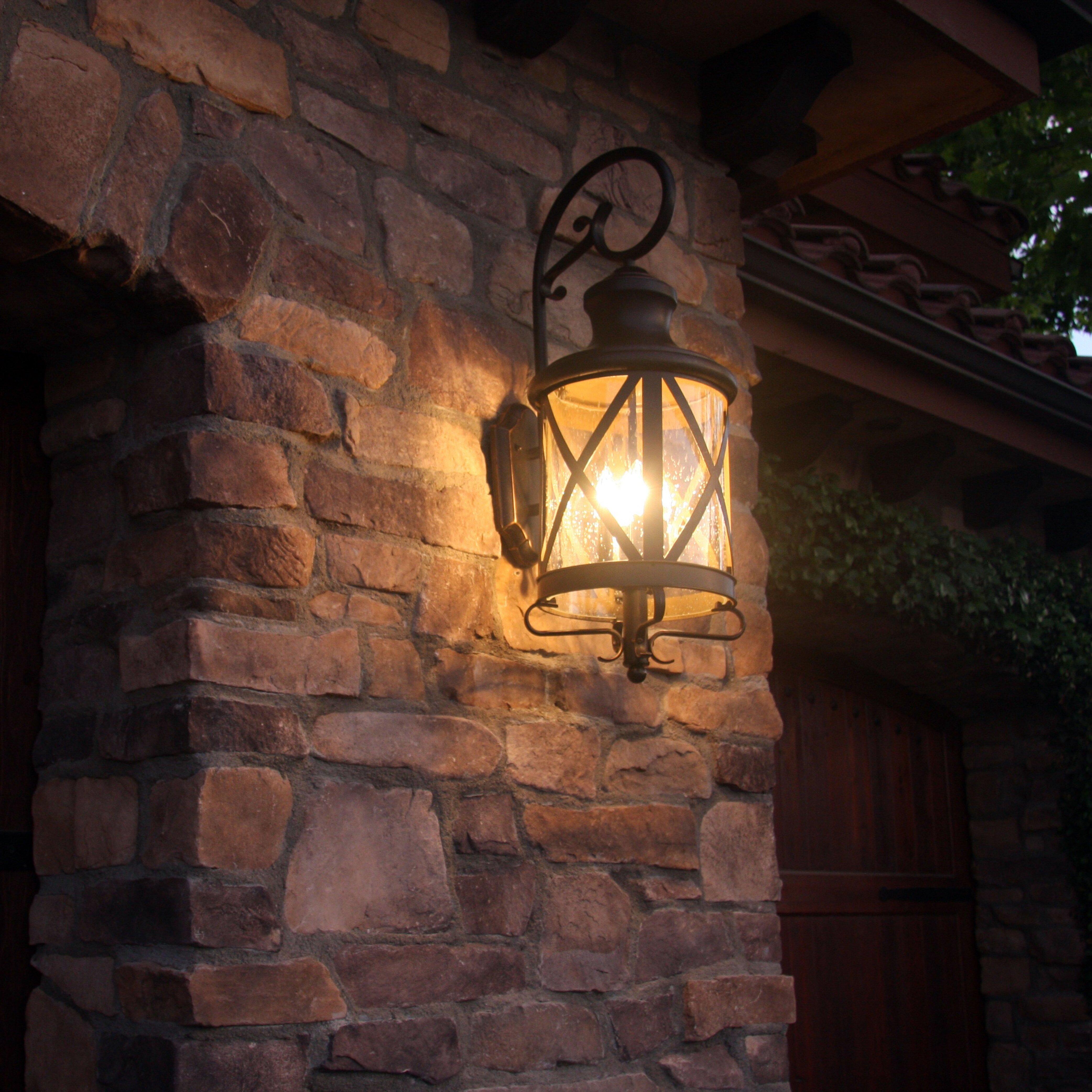 Farmhouse & Rustic Outdoor Wall Lights   Birch Lane