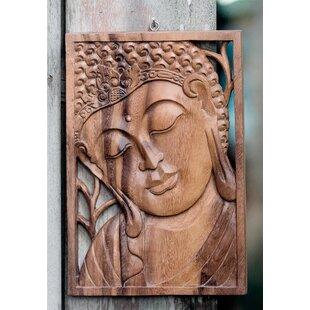 Buddha Wooden Wall Art Wayfair