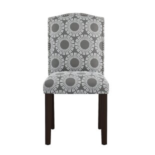 Kelston Nail Button Arched Medallion Side Chair