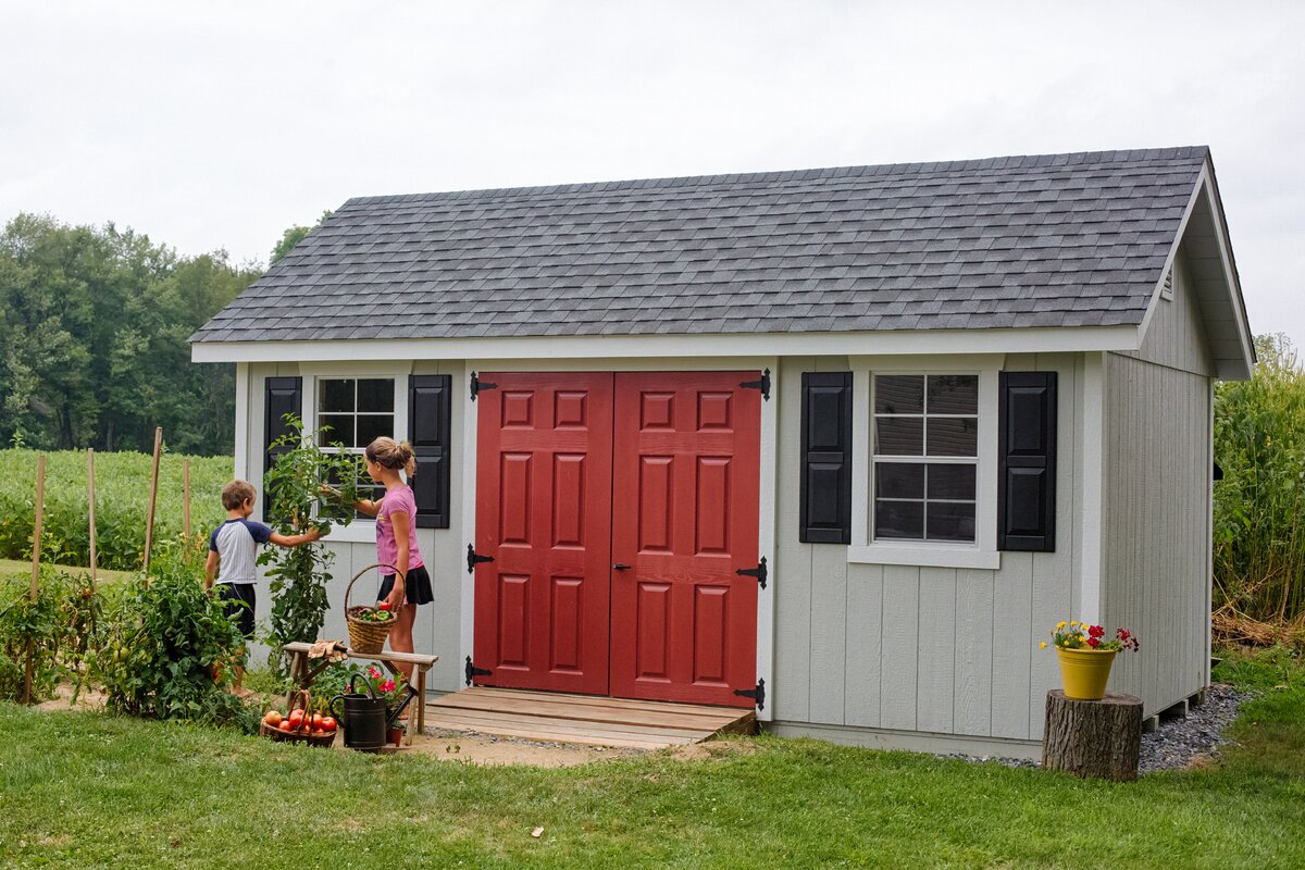 W X 10 Ft. D Wooden Storage Shed