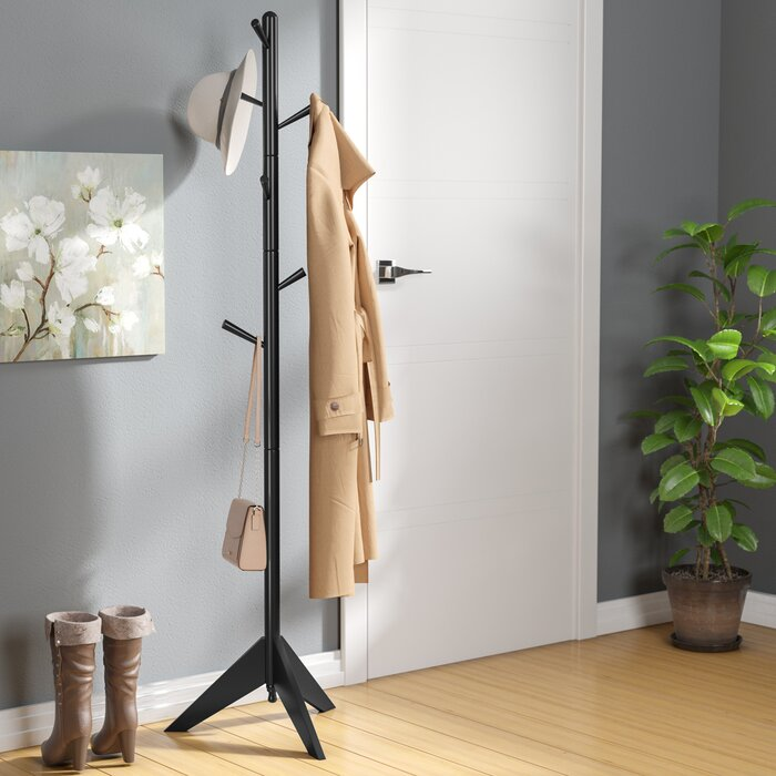Zipcode Design Freestanding Wood Coat Rack Reviews Wayfairca Unique Room And Board Coat Rack