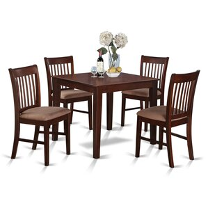 Lennox 5 Piece Dining Set by Alcott Hill