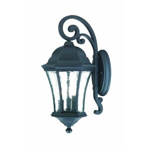 Waverly 3-Light Outdoor Wall Lantern