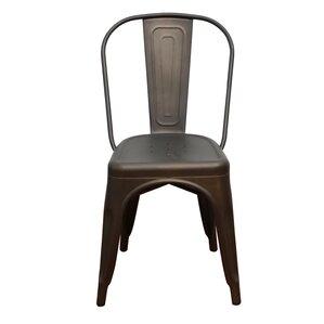 Remmington Stackable Tolix Side Chair ..