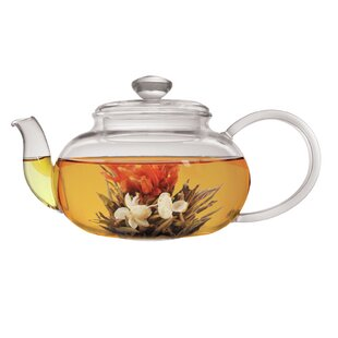 Teapot With Infuser And 2 Flowering Tea