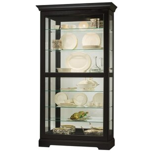 Bremer Lighted Curio Cabinet
