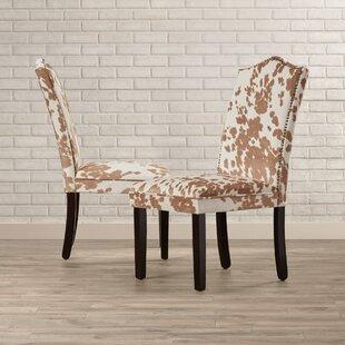Healdsburg Nailhead Parsons Chair (Set of 2)