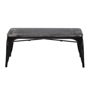 Selene Wood/Metal Bench