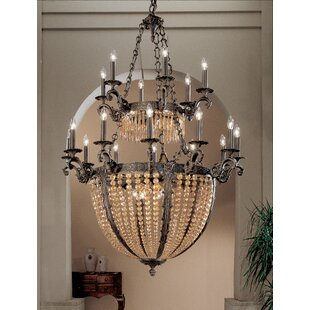 Milk bottle chandelier wayfair merlot 27 light crystal chandelier aloadofball Gallery