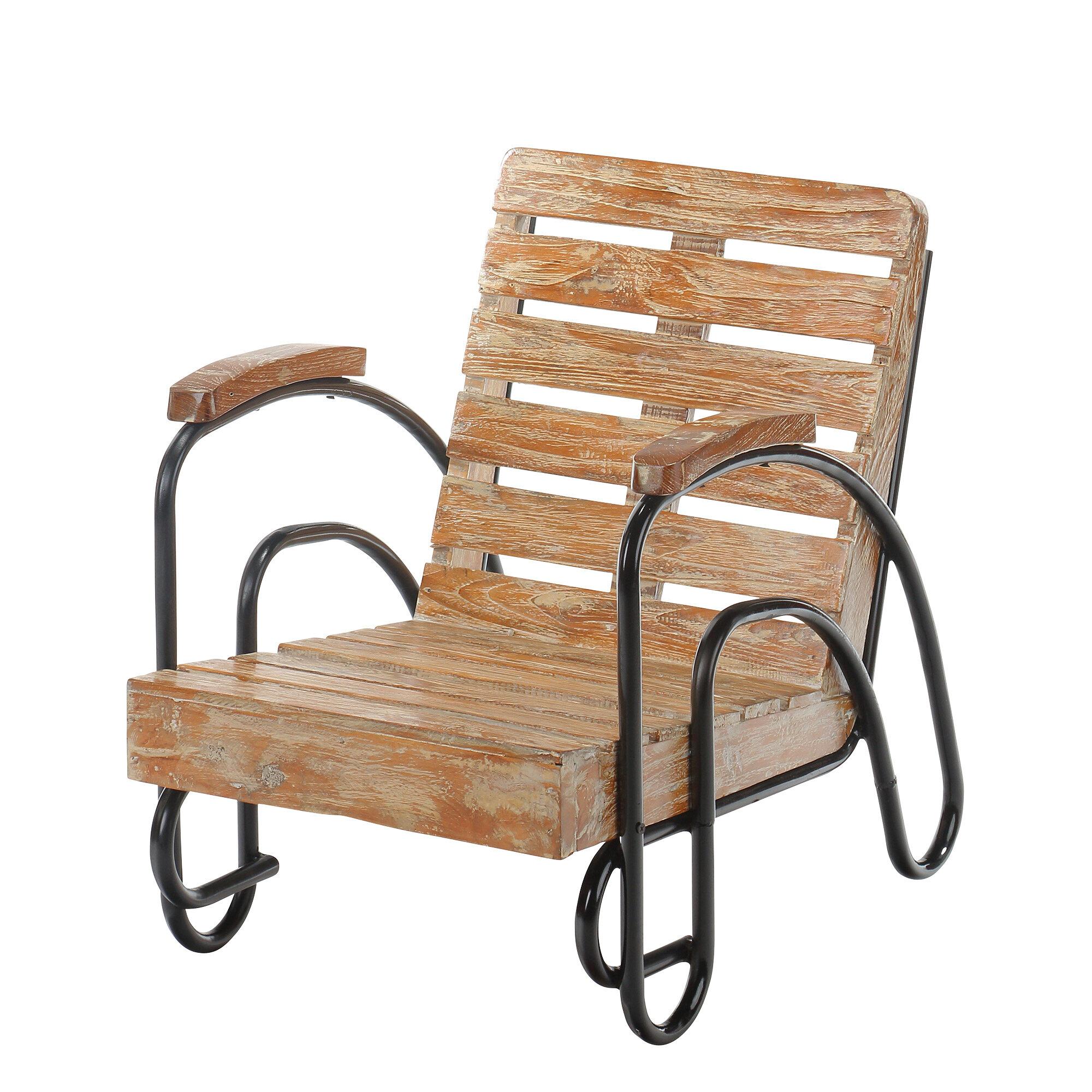 Harriet Bee Coeburn Wood Slat Patio Lounge Chair & Reviews
