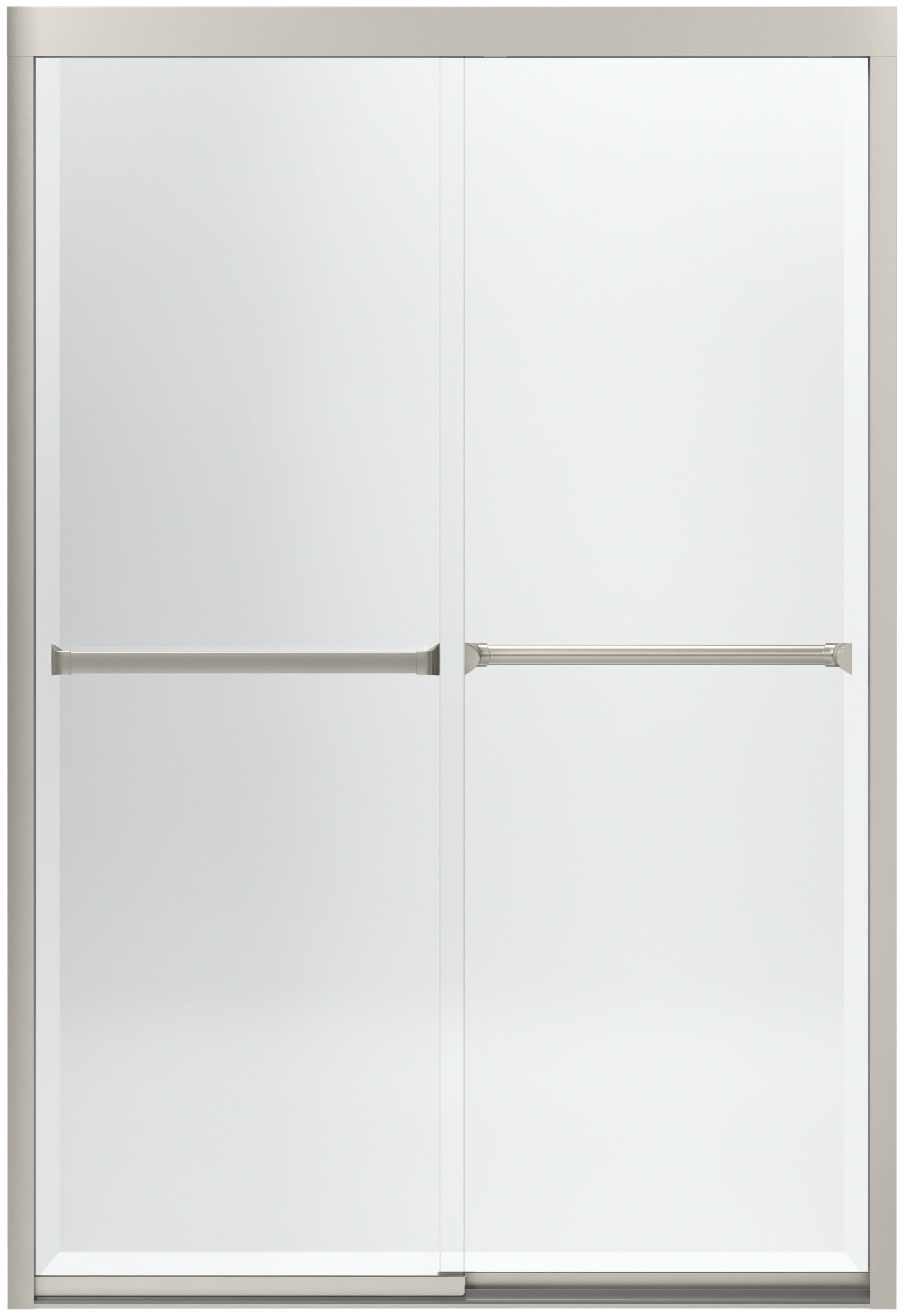 Sterling By Kohler Meritor 47 63 X 69 Byp Shower Door With Cleancoat Technology Wayfair