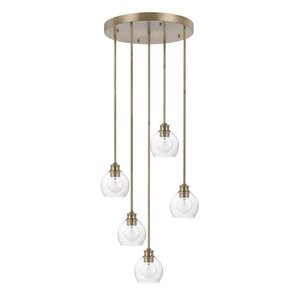 Maria 5-Light Cluster Pendant