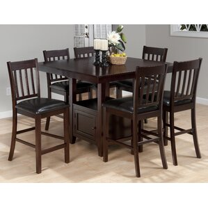 Oakmeadow 7 Piece Dining Set by Alcott Hill