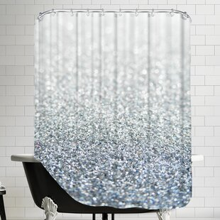 Shiny Glittery Shower Curtain