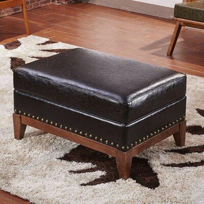 Premium Ottoman Corzano Designs Upholstery: Black