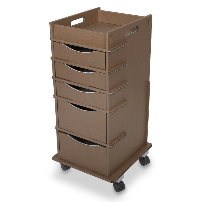 white cart container the storage shopping lock link drawer units drawers store