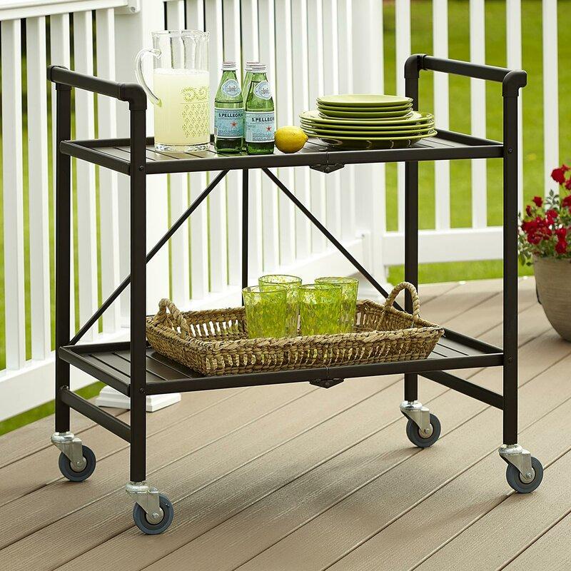Beachcrest Home Linfield Bar Cart & Reviews