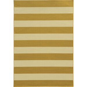 alford yellow area rug