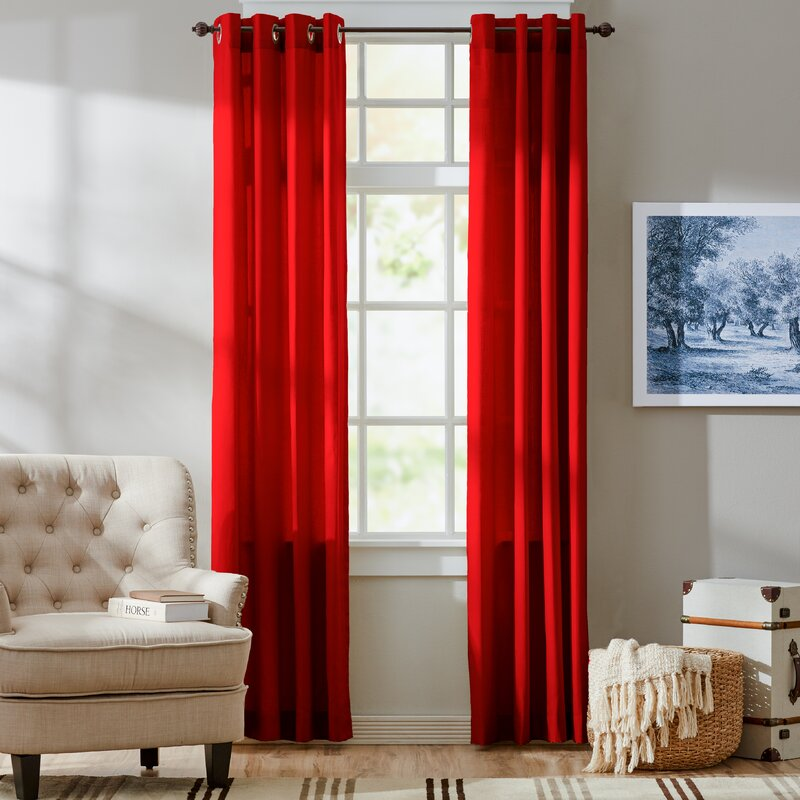 Three Posts Harlequin Curtain Panels & Reviews