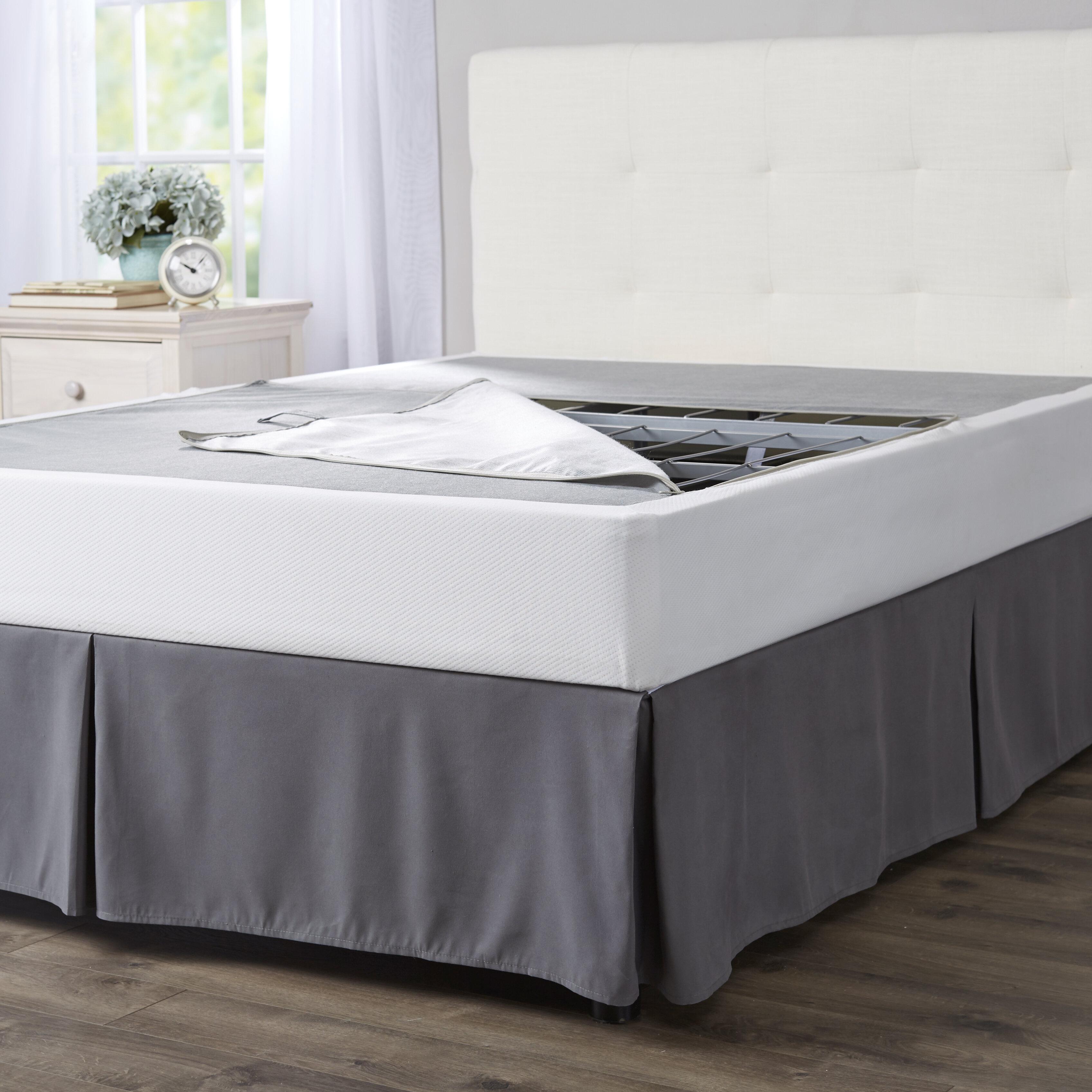 pile of mattresses. Wayfair Basics Folding Box Spring Pile Of Mattresses