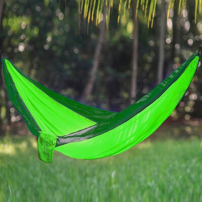 Freeport Park Karley Sports Force Double Camping Hammock  Color: Lime/Green