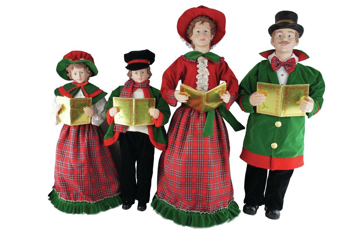 Christmas Caroler Figurines Photo Album