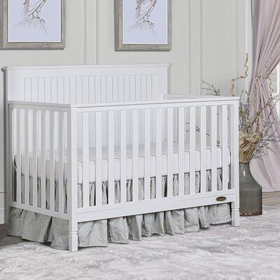 Alexa 5-in-1 Convertible Crib Dream On Me Color: White