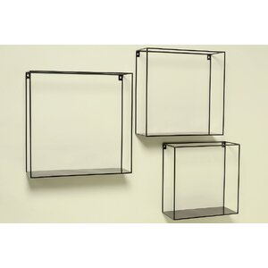 3 Piece Accent Shelf Set