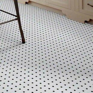 Mosaic Black And White Tile Wayfair