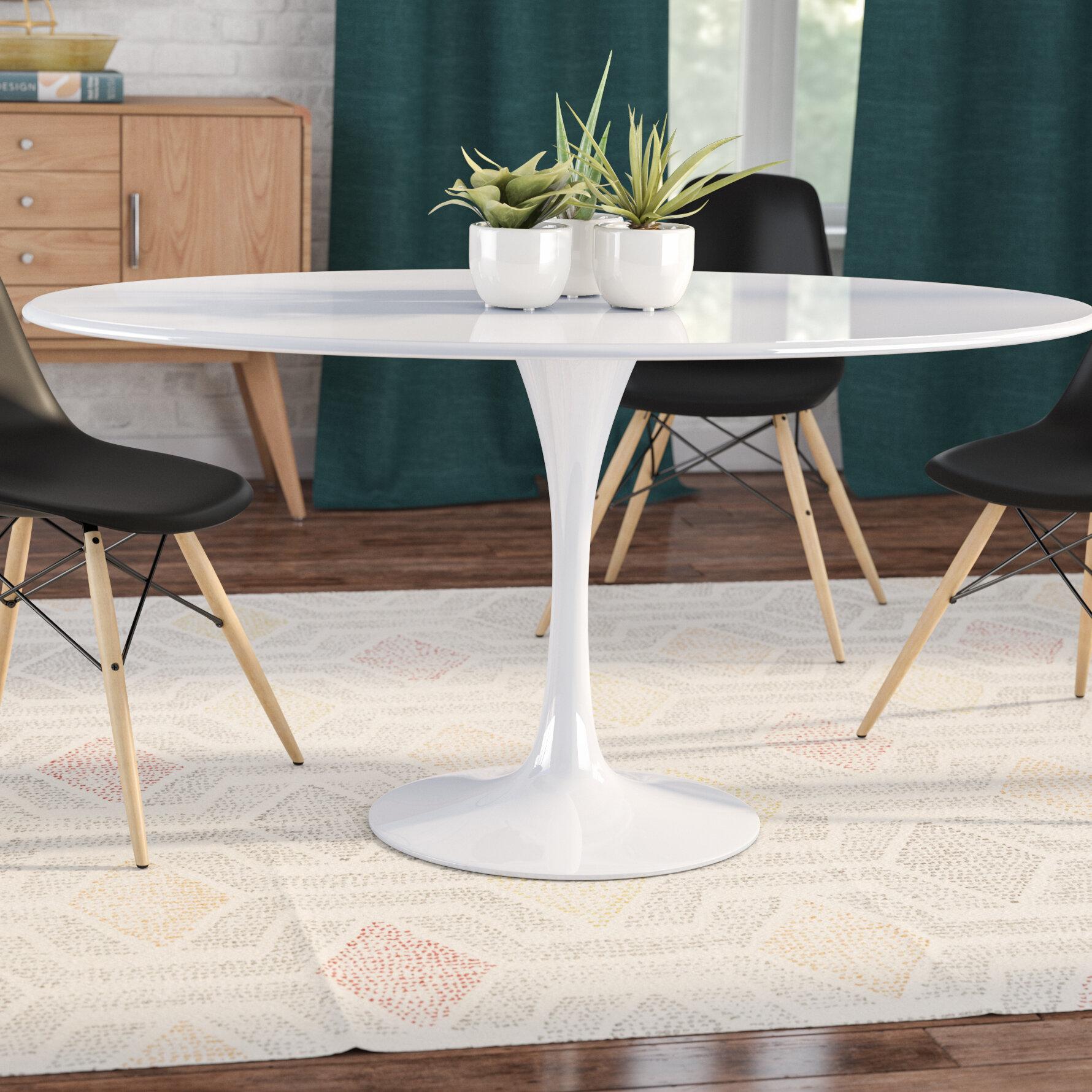 Langley Street Julien Oval Dining Table U0026 Reviews | Wayfair
