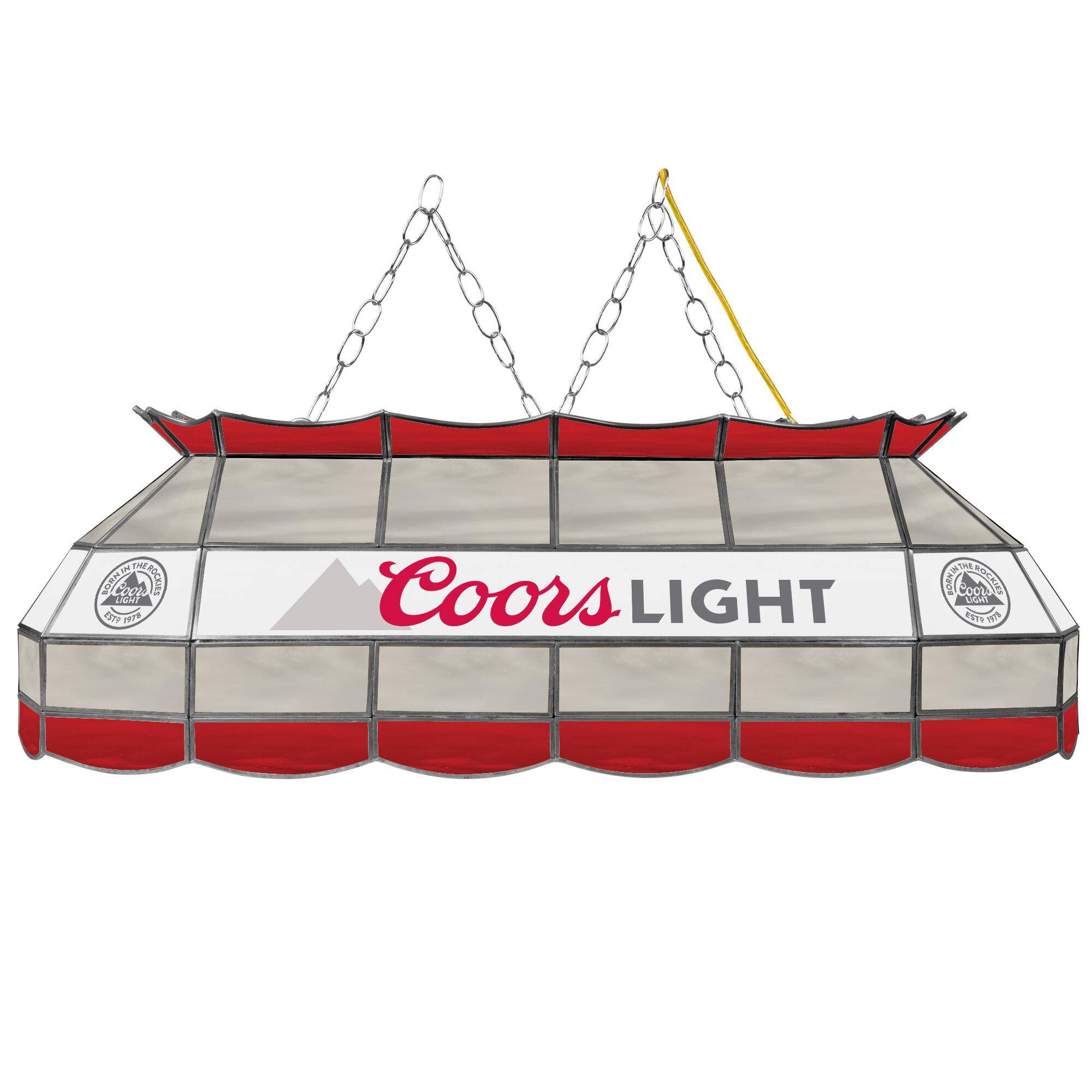 Miller Coors 3-Light Pool Table Light & Reviews
