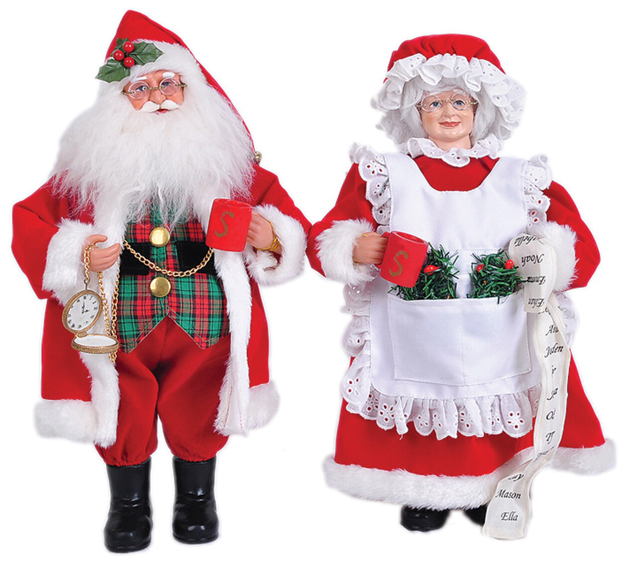 The Holiday Aisle 2 Piece Mr And Mrs Claus Set Reviews