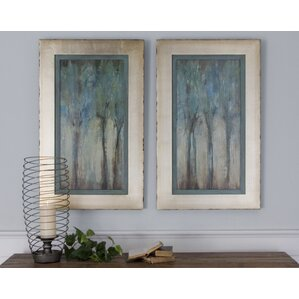 Forest Framed Print (Set of 2)