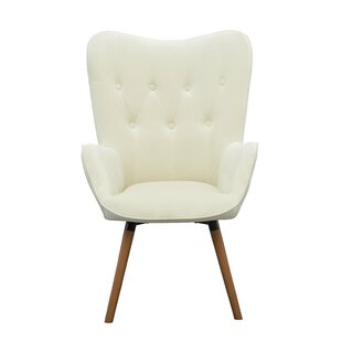 Beautiful White Accent Chair Decoration