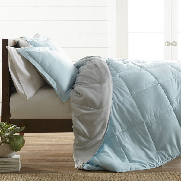 Adena Ultra Soft Down Alternative Reversible Comforter Set