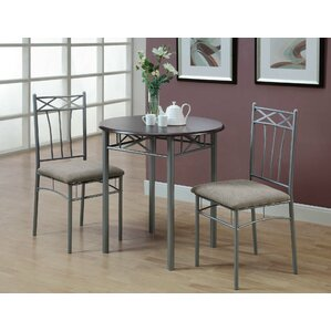 blaxcell 3 piece dining set